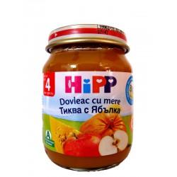 HIPP Био пюре Тиква с ябълка 125g