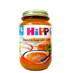 Хип детска зеленчукова супа с пуешко 0.190