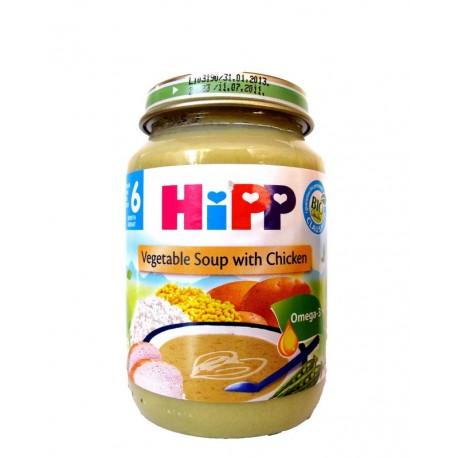 Хип детска зеленчукова супа с пилешко 0.190
