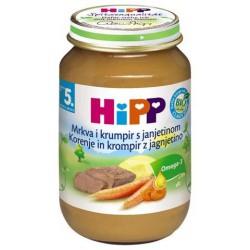 Хип пюре моркови, картофи и агнешко 0.190