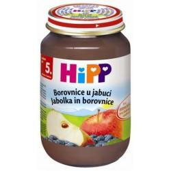 HIPP пюре боровинки и ябълки 125g