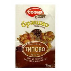 Брашно пшенично Типово София мел 1kg