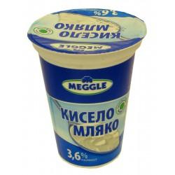 Кисело мляко Meggle 3,6% 400g