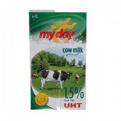 My Day мляко 1,5% 1 л. UHT