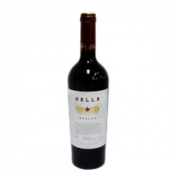 Вино Halla Merlot Червено 750ml