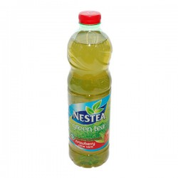 Студен чай Nestea зелен чай и ягода 1.5l