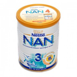 Преходно мляко Nestle NAN 3 400g