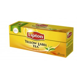 Черен чай Lipton Yellow Label 25бр.