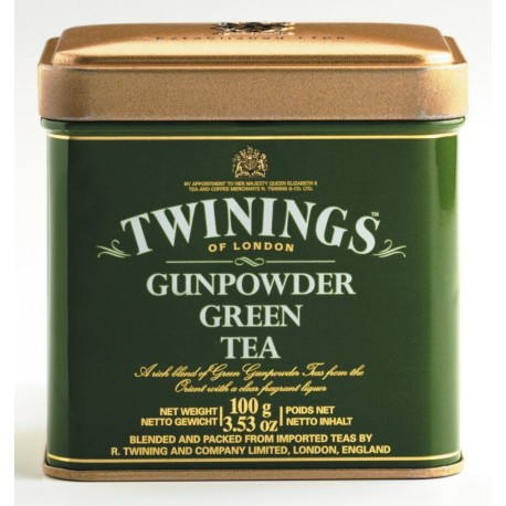 TWININGS Green Tea metal box 100