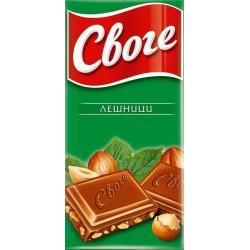 Шоколад СВОГЕ ЛЕШНИК 40g