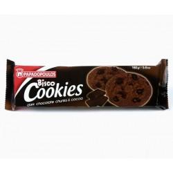 Бисквити Bisco Cookies с какао и черен шоколад  160g