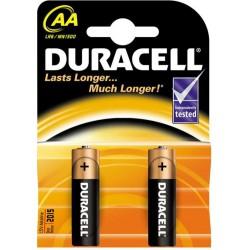 Батерия Duracell AA 2бр.