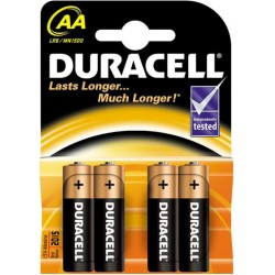 Батерия Duracell AA 4бр.