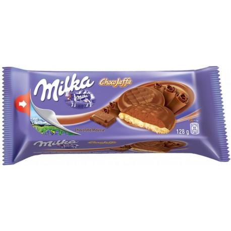 Бисквити Милка с шоколадов мус 128g