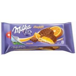 Бисквити Milka портокал 147g