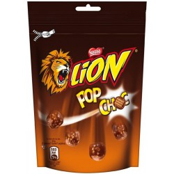 Десерт Lion pop choc 140g