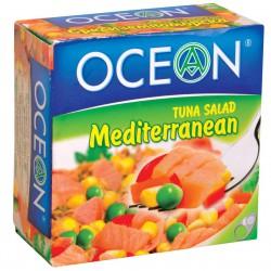 Салата от риба тон  Средиземноморска