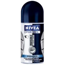 Рол-он Nivea Black&White за мъже 50ml