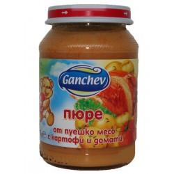 Ганчев Пуешко, картофи и домати 190g