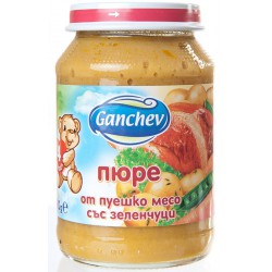 Ганчев Пуешко със зеленчуци 190g