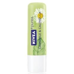 Балсам за устни pure & natural Camomile & Calendula Нивеа
