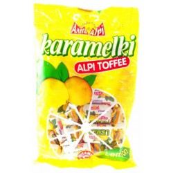 Бонбони Алпи Карамелки Лимон 90g