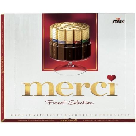 Шоколадови бонбони Merci 250g