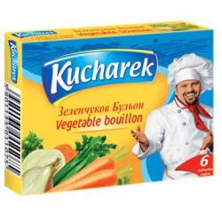 Бульон Kucharek зеленчуков 6X10g