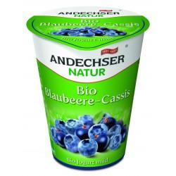 Био кисело мляко с боровинки 3,7 % 400g Andechser