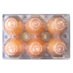Яйца  M 6бр. Подово отглеждани кокошки