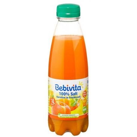 Bebivita сок от плодове и моркови 0,500