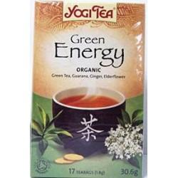 Био чай Зелена енергия 17х1,8g YOGI TEA